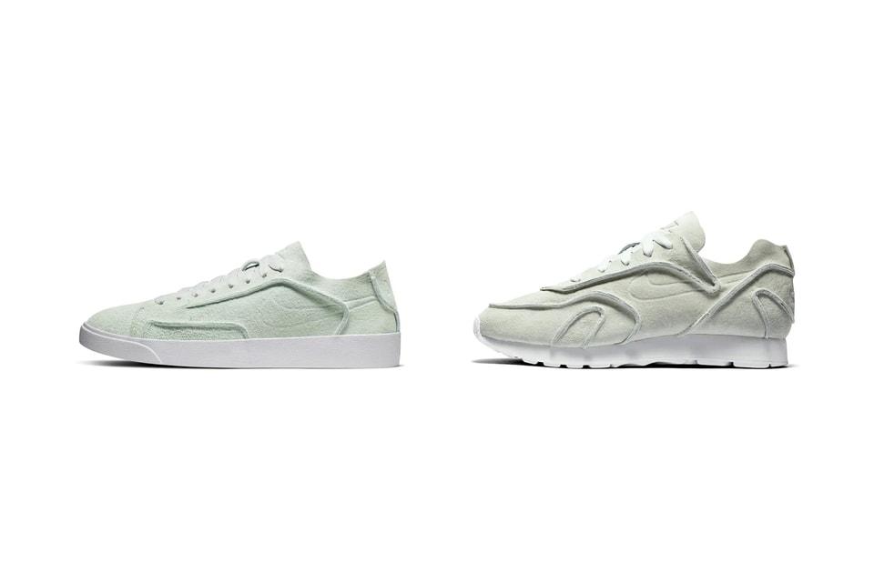 innovative design latest fashion online retailer Nike's Blazer Low & Outburst in Ghost Aqua | HYPEBAE