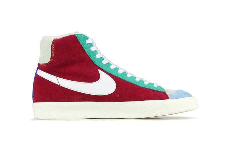 Nike Blazer Mid 77 Vintage Noble Red Kinetic Green Jade Aura