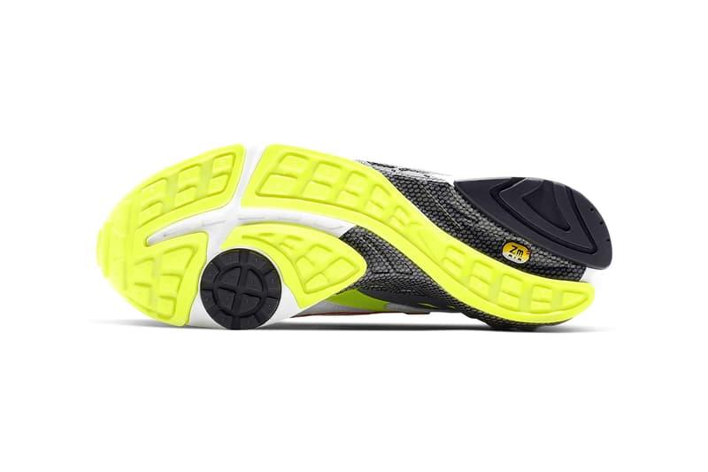 nike air ghost racer original color white neon yellow dark grey atom red sneakers sneakerhead shoes footwear