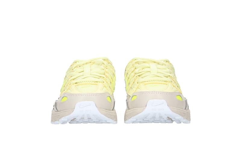 Nike P-6000 Sneaker Neon Luminous Green Yellow Grey Retro Trainer Shoe Footwear Dad Shoe Chunky Sporty
