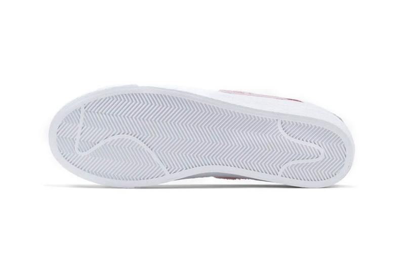 Parra Nike SB Blazer Low Dunk Low White