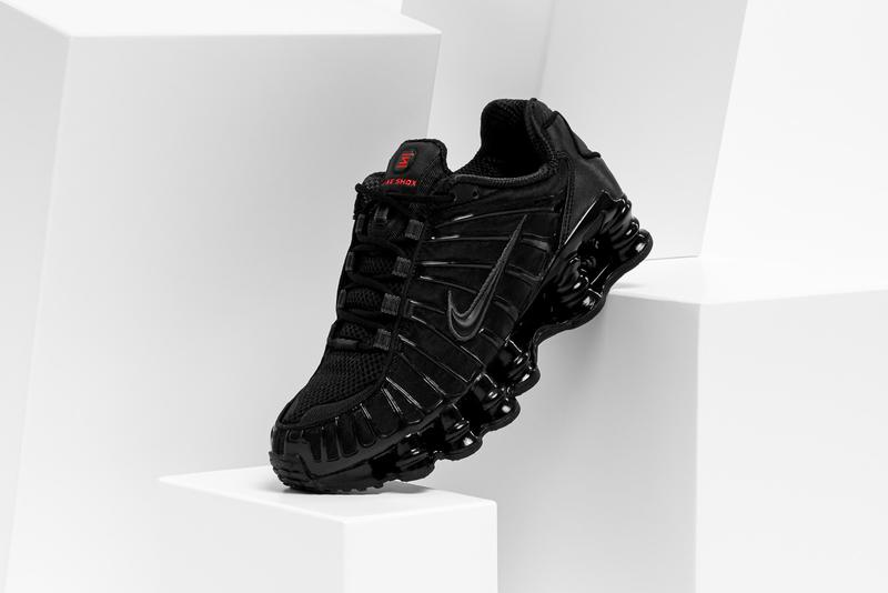 Nike Shox TL Sneaker Black