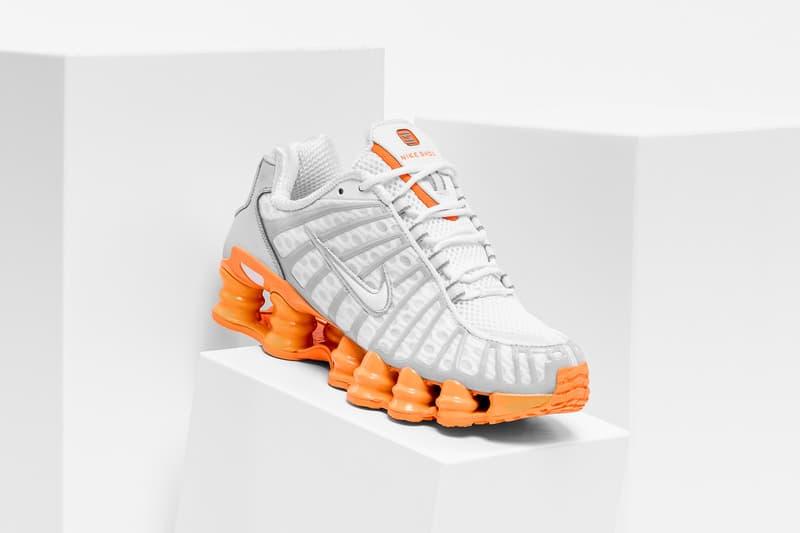 Nike Shox TL Sneaker Orange White