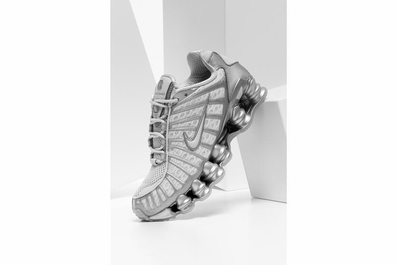 Nike Shox TL Sneaker Silver/Gray