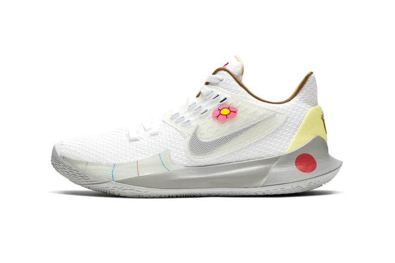 nike spongebob squarepants collaboration kyrie 5 sandy cheeks squirrel