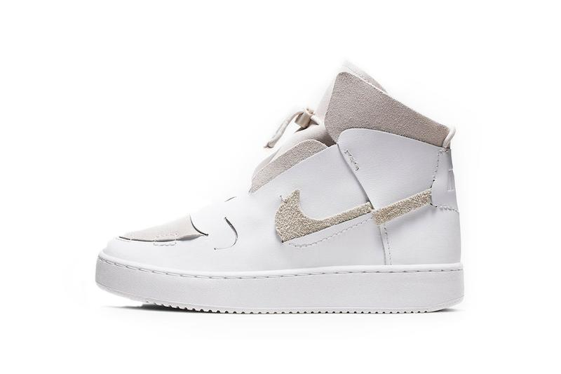 Nike Vandalized LX White Platinum Tint Game Royal Deconstructed  Leather Suede Sneaker