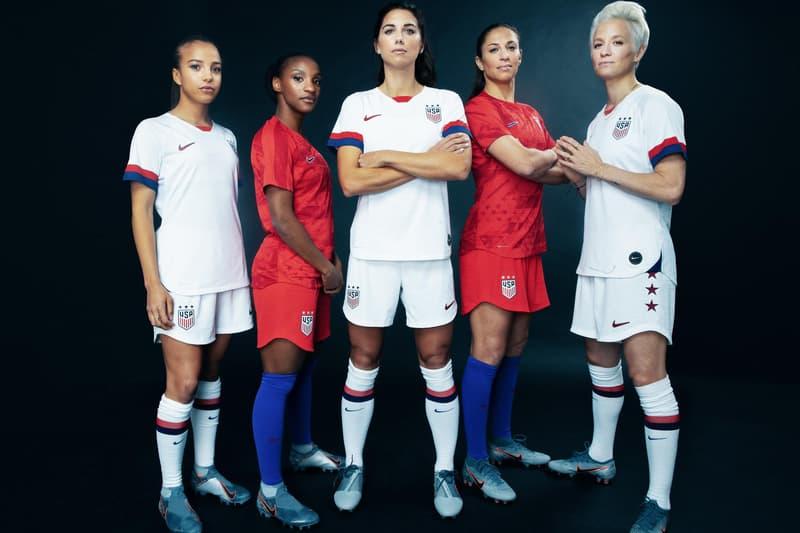 USWNT Nike Jersey Megan Rapinoe Alex Morgan Crystal Dunn Mallory Pugh Carli Lloyd Women's World Cup