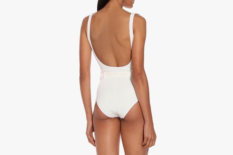 off-white virgil abloh swimsuit beach pool swimming bikini belt white black summer mytheresa