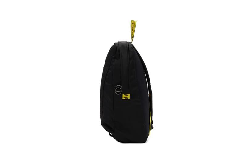 Off White Easy Logo Backpacks Black