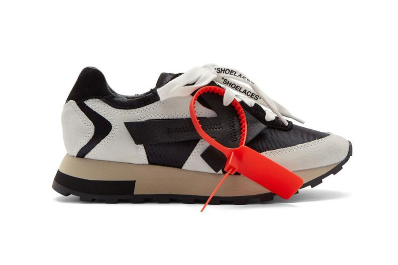 Off-White HG Runner Sneaker Blue White Tag