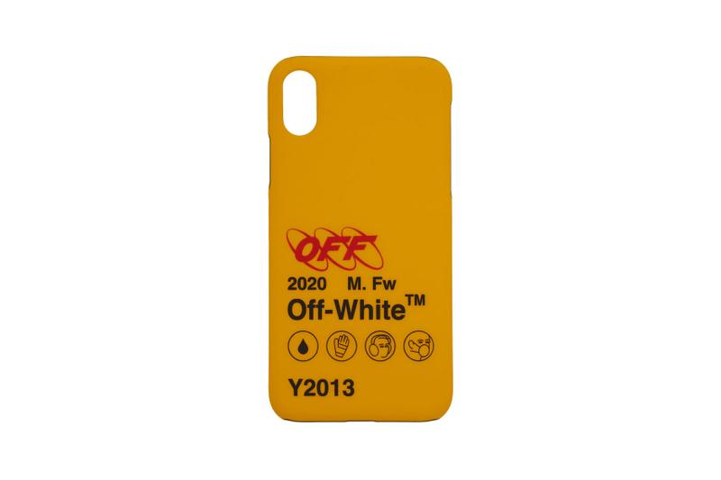 buy popular a0b53 0710a Off-White Releases Yellow Quote iPhone Case | HYPEBAE