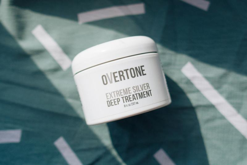overtone hair care coloring conditioner mask extreme silver dyed bleached colored hairstyle beauty product review purple
