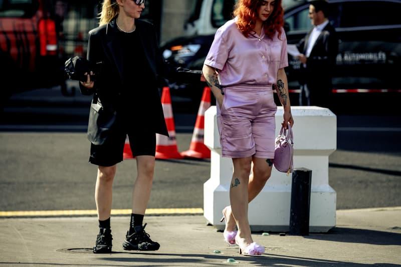 Streetstyle Paris Haute Couture Week Fall 2019 Streetwear Snaps Acne Studios Balenciaga Celine Anwar Hadid FKA Twigs Selena Forrest Adesuwa Aighewi