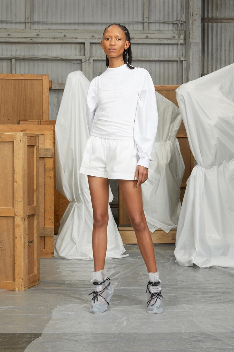 perfect number woman on pedastal Adesuwa Aighewi white set