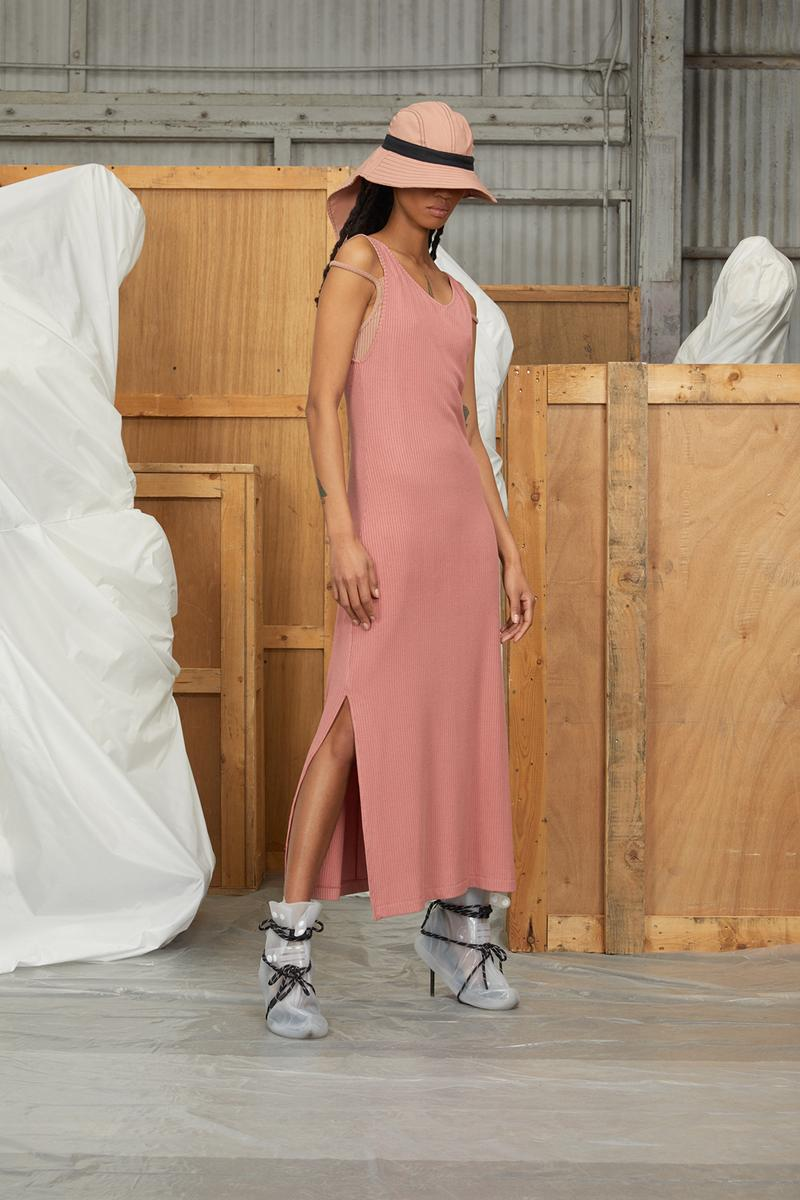 perfect number woman on pedastal Adesuwa Aighewi pink dress