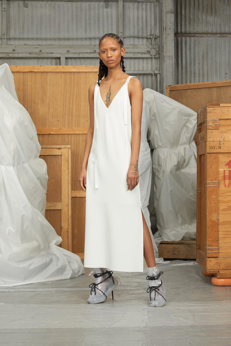 perfect number woman on pedastal Adesuwa Aighewi white dress