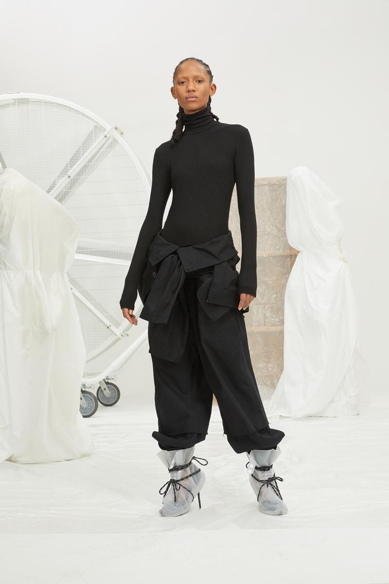 perfect number woman on pedastal Adesuwa Aighewi black set