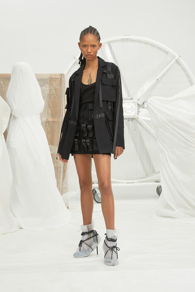 perfect number woman on pedastal Adesuwa Aighewi black shorts jacket