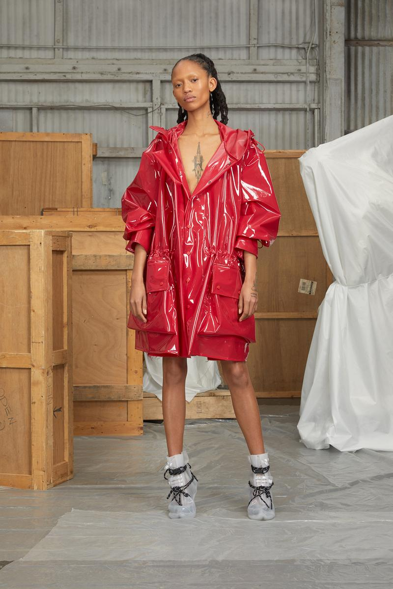 perfect number woman on pedastal Adesuwa Aighewi red jacket