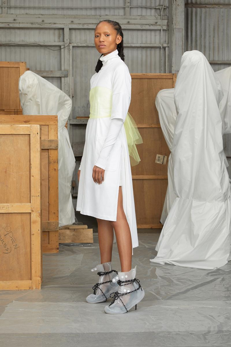 perfect number woman on pedastal Adesuwa Aighewi white dress