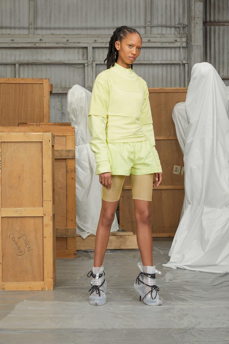 perfect number woman on pedastal Adesuwa Aighewi yellow set
