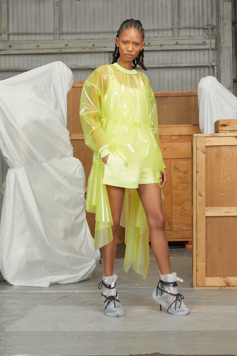 perfect number woman on pedastal Adesuwa Aighewi yellow jacket