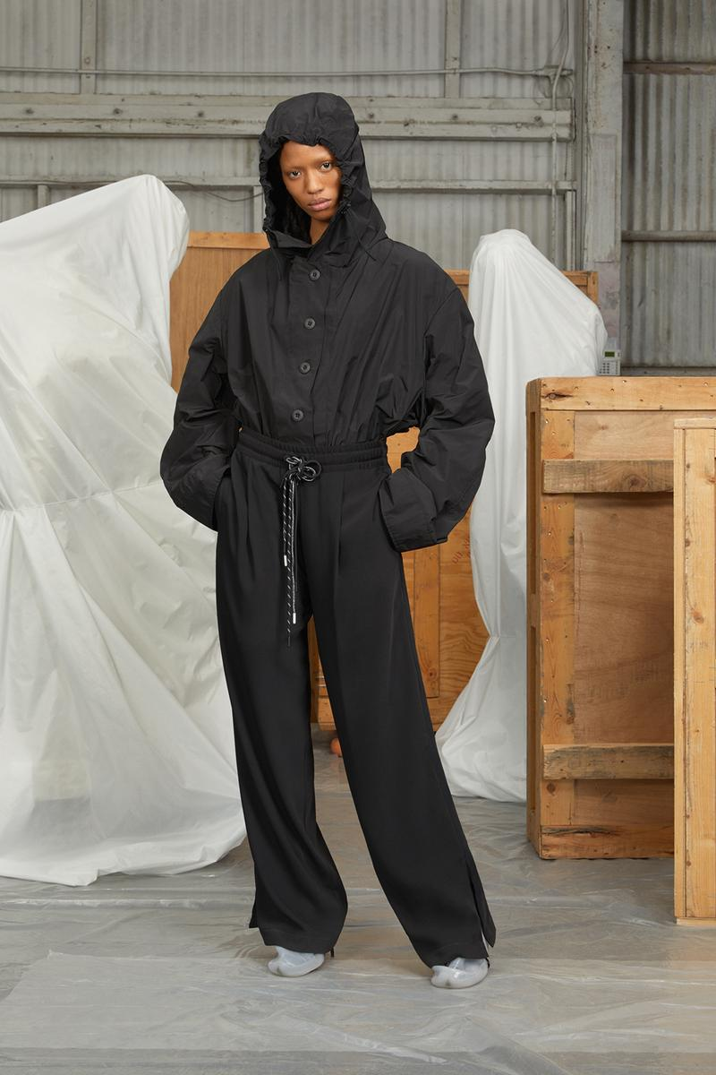 perfect number woman on pedastal Adesuwa Aighewi black jacket pant hoodie