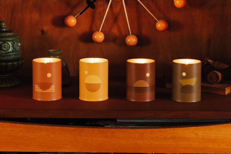 pf candle co candles incense diffusers fragrance home aroma sunset california swell golden hour dusk moonrise