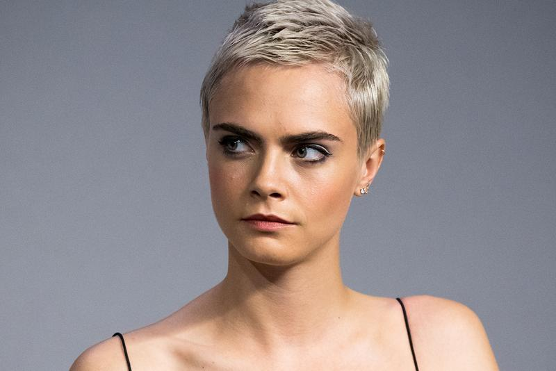 Cara Delevingne Model Actress Actor 2017 Pixie Cut Short Hair