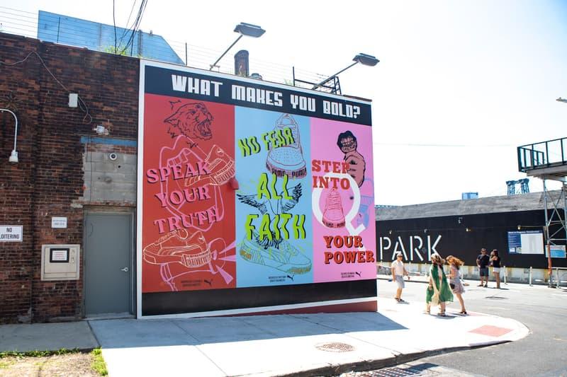 Puma Cali Bold Mural New York