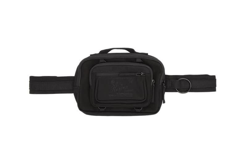 raf simons eastpak waistbag fanny pack bum bag black