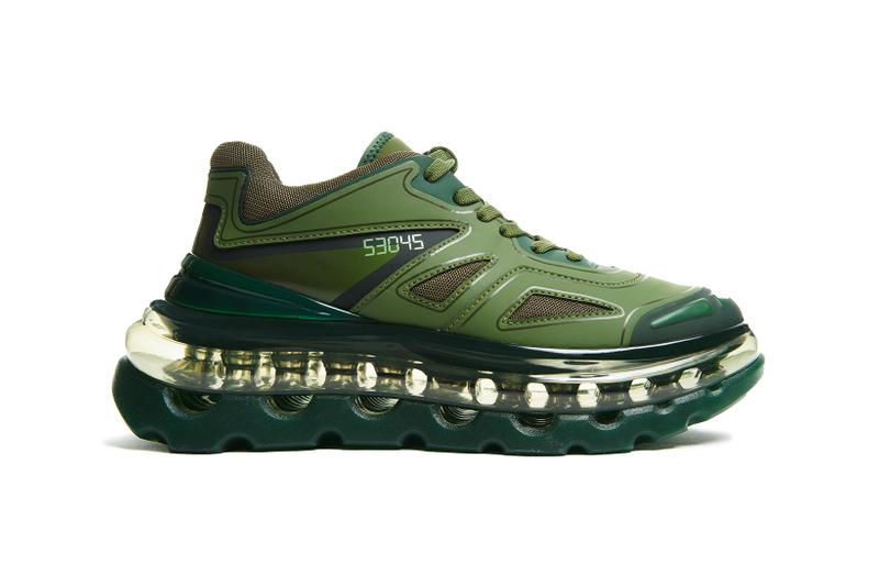 balenciaga triple s designer shoes 53045 bump air green giant sneakers footwear sneakerhead david tourniaire beauciel