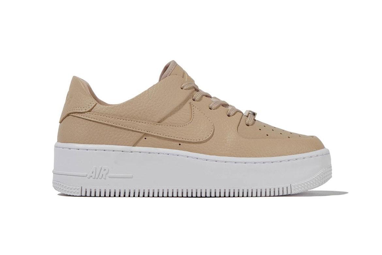 En cantidad mariposa Plisado  Nike Releases Nude Air Force 1 Sage Low, Desert | HYPEBAE