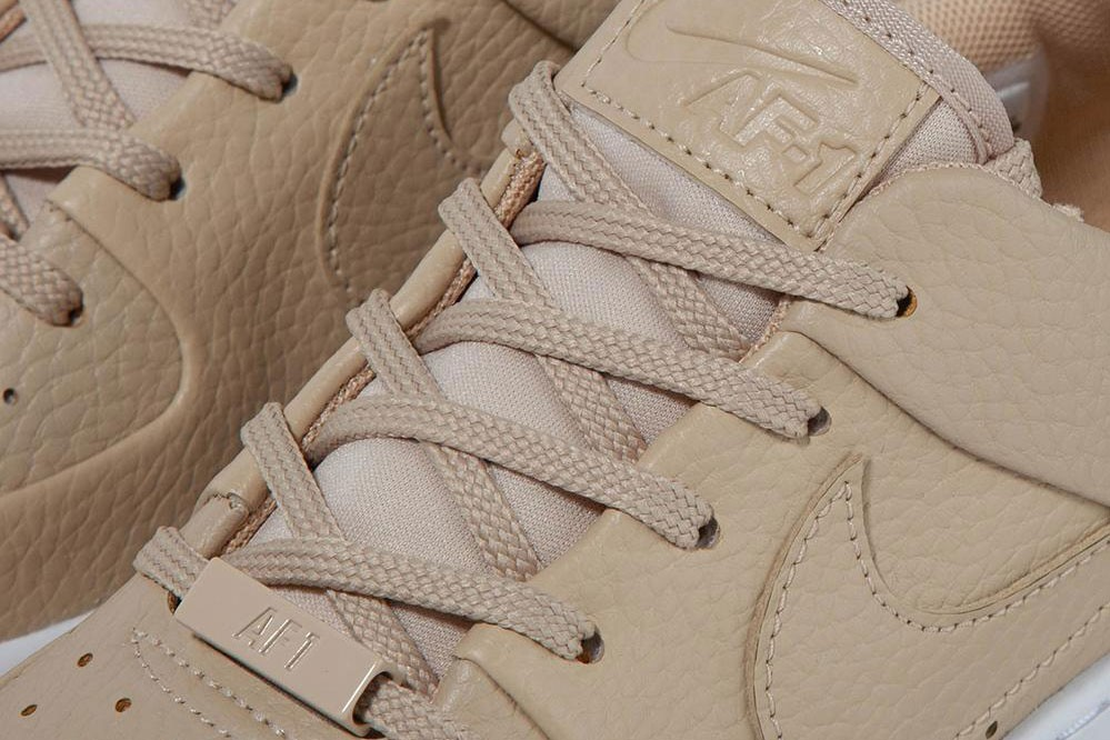 Nike Releases Nude Air Force 1 Sage Low