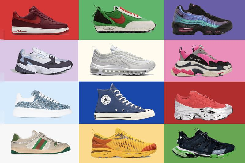 Sneakers To Wear Based on Your Birthstone Nike Adidas Balenciaga Gucci Trainers Footwear Kiko Kostadinov Asics Undercover Ozweego Raf Simons