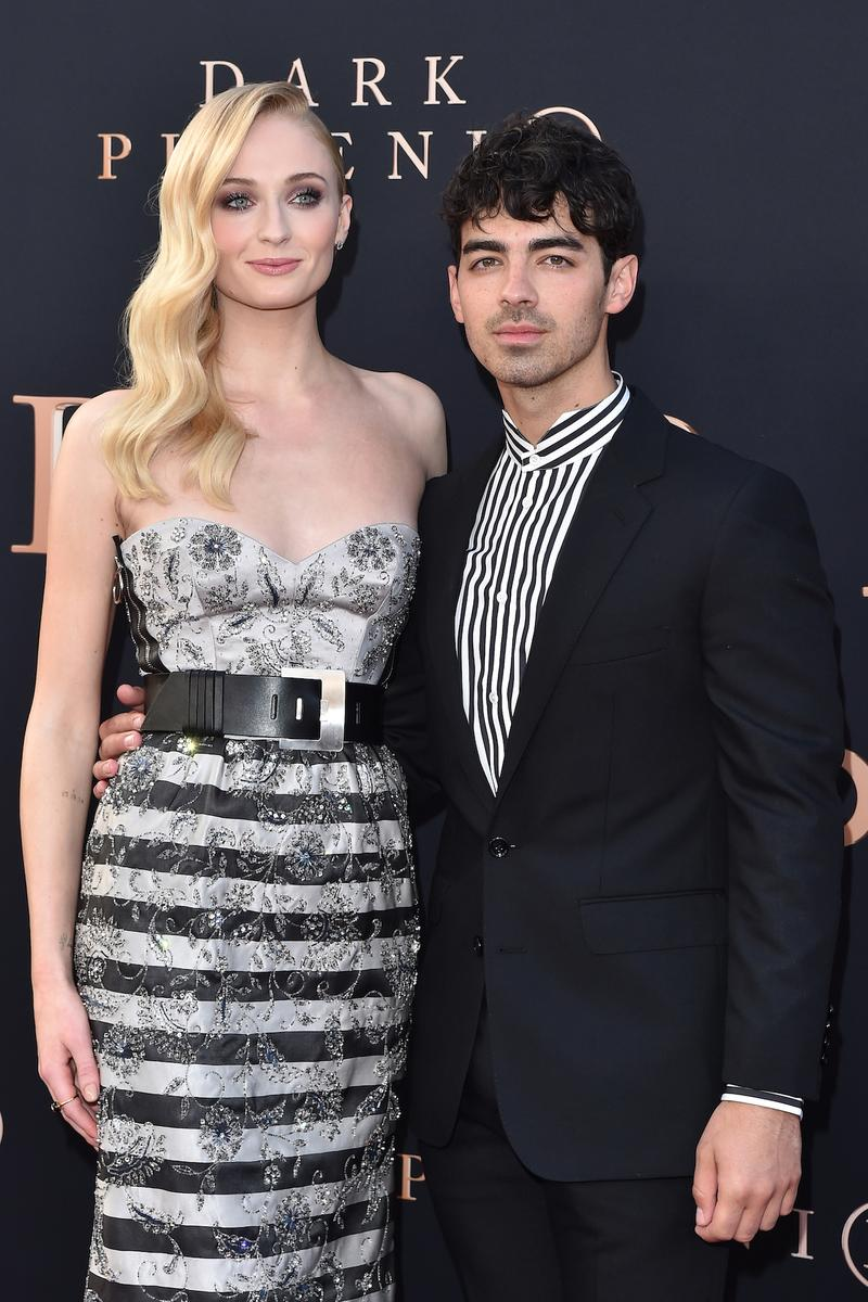 Sophie Turner Custom Louis Vuitton Wedding Dress Joe Jonas Marriage Nicholas Ghesquiere Ceremony Teaser Look