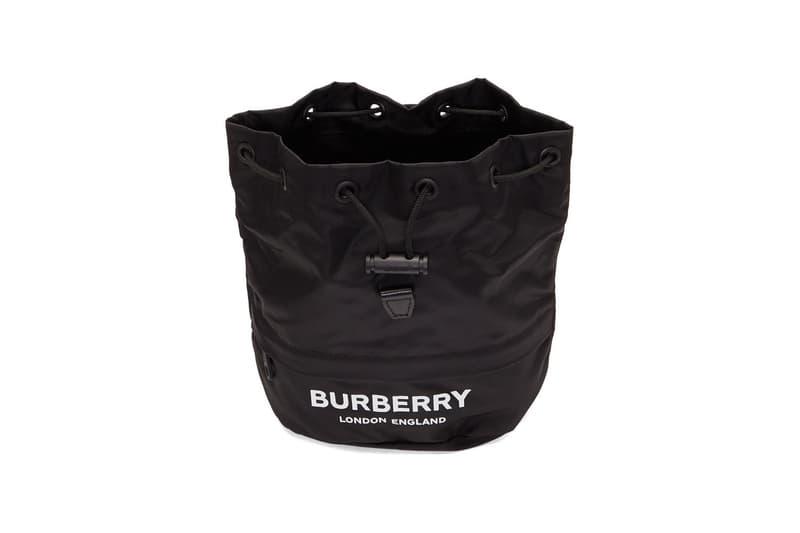 burberry ssense pouch check monogram bag riccardo tisci logo london