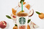 "Picture of Starbucks Adds ""Peach on the Beach"" Frappuccino to Its Summer Menu"