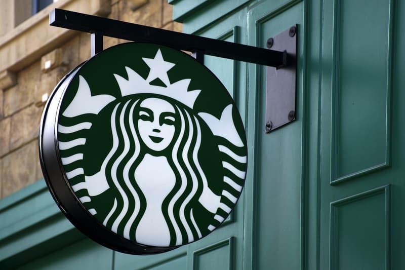 Starbucks Sign Green Black White