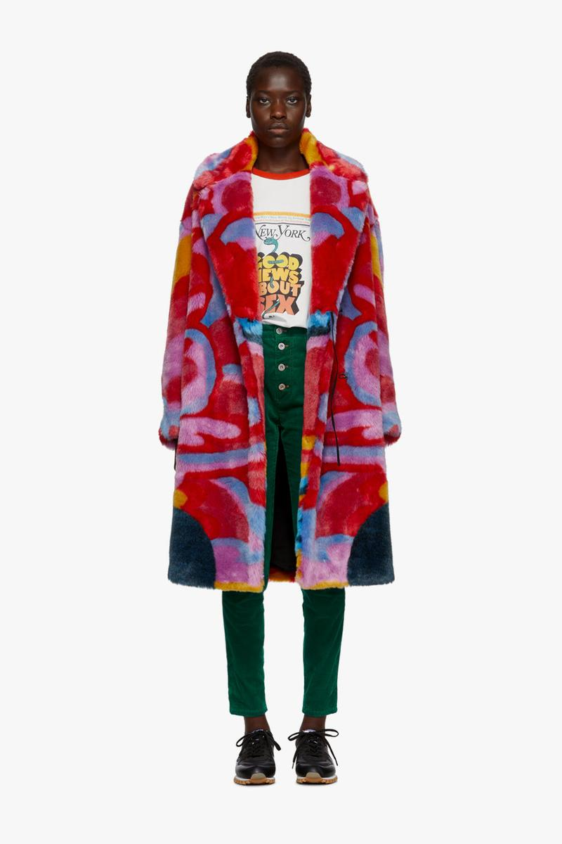 stella mccartney beatles all together now paul john lennon faux fur coat knit sweater t-shirt bag sneakers