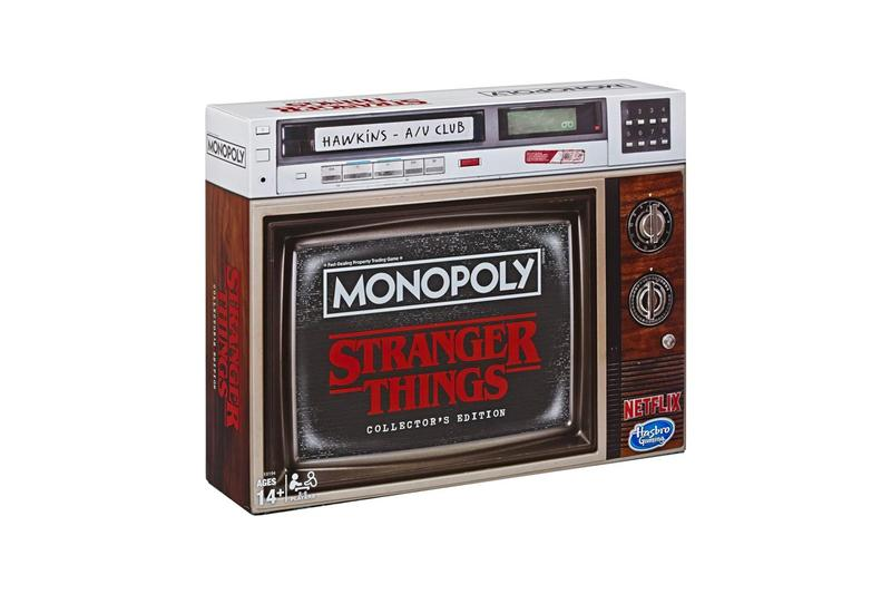Monopoly Stranger Things Collector's Edition Box