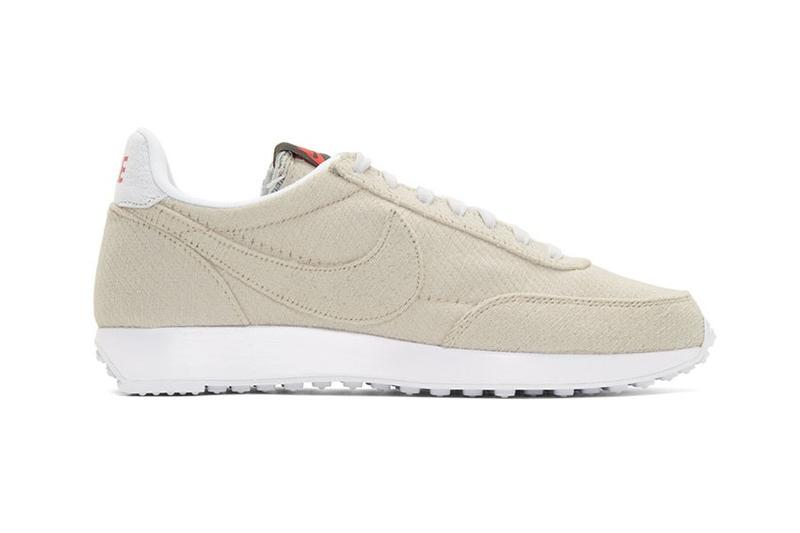 Stranger Things x Nike Air Tailwind 79 Cortez Release Drop Sneaker Shoe Beige White Laces Branding