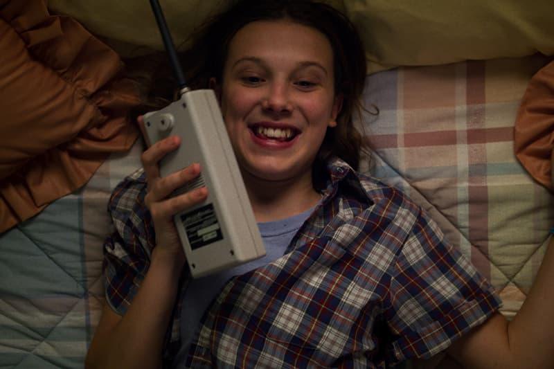 Stranger Things Season 3 Millie Bobby Brown Eleven Walkie Talkie Episode 1