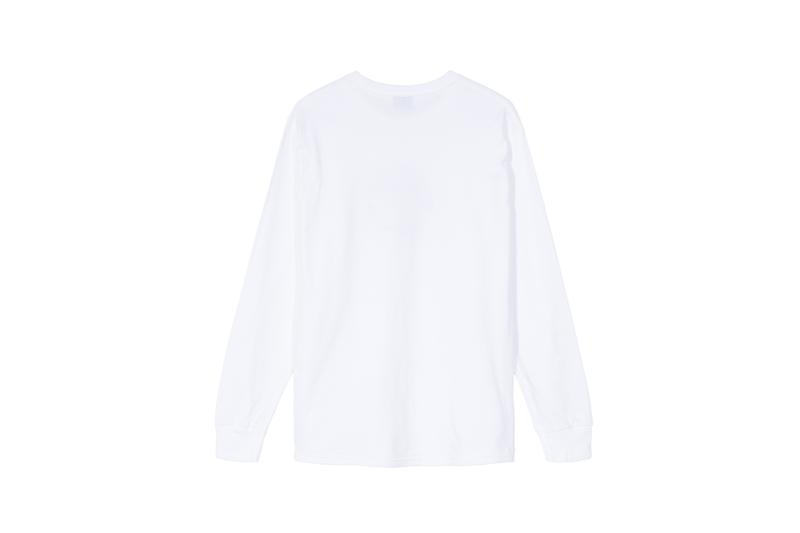 Stussy x Carharrt WIP x Dover Street Market Collaboration Long Sleeve Shirt White