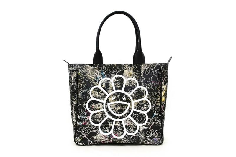 takashi murakami signed canvas tote bag perrotin