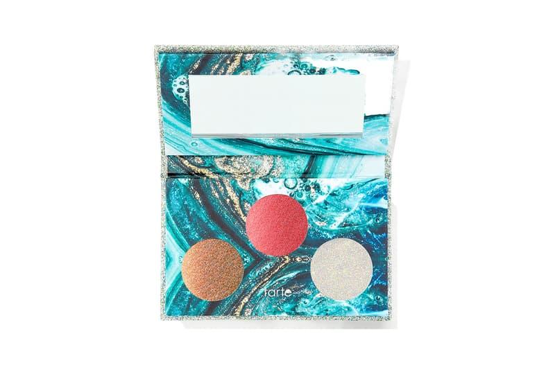 tarte clean beauty sea collection pocket palettes eyeshadows lip glosses sephora makeup