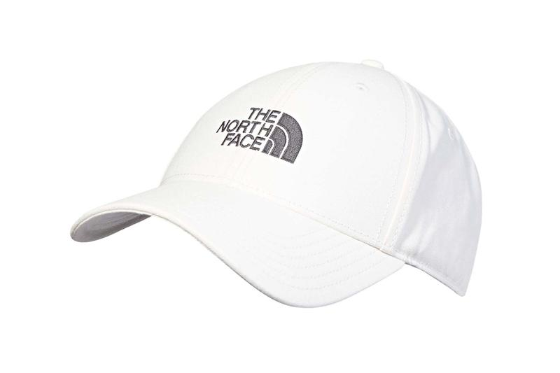 the north face back to school heritage white cap