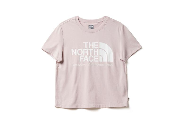 the north face back to school heritage pink t-shirt