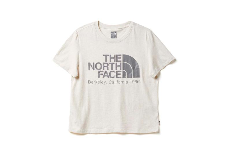 the north face back to school heritage white t-shirt
