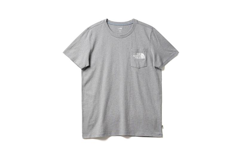 the north face back to school heritage grey t-shirt